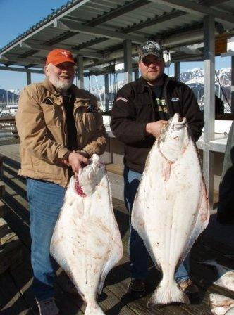 Ramseys - father and son - fishing in Alaska